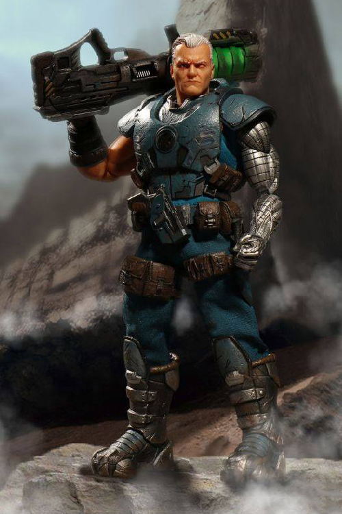Cable Marvel Universe Light-Up 1/12 Actionfigur