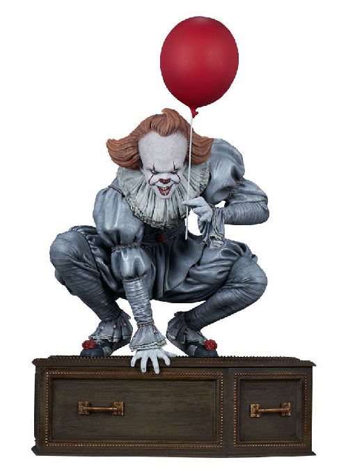 Pennywise Stephen Kings It (2017) Staty