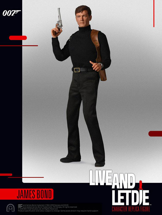James Bond Live And Let Die Collector Series Actionfigur 1/6