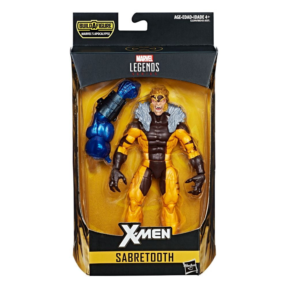 Sabretooth X-Men Marvel Legends Actionfigur