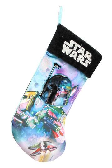 Star Wars Christmas Stocking Boba Fett Julstrumpa