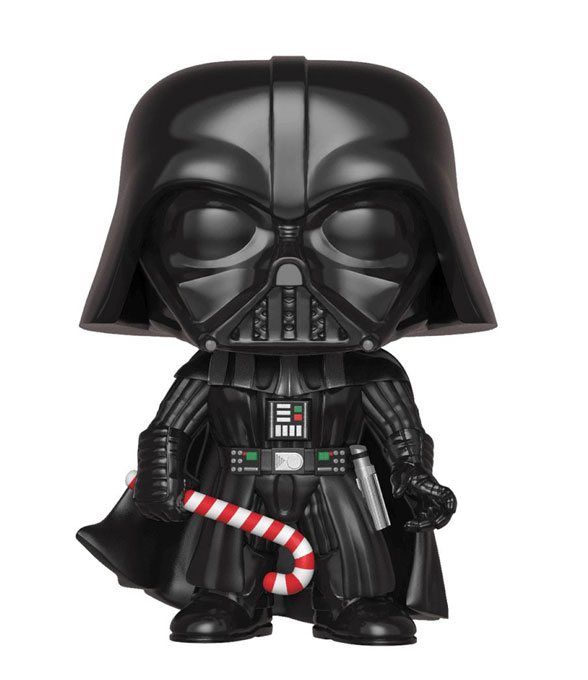 Star Wars POP! Holliday Bobble-Head Darth Vader Vinylfigur