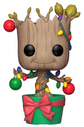 Marvel Comics POP! Holiday Bobble-Head Groot Vinylfigur