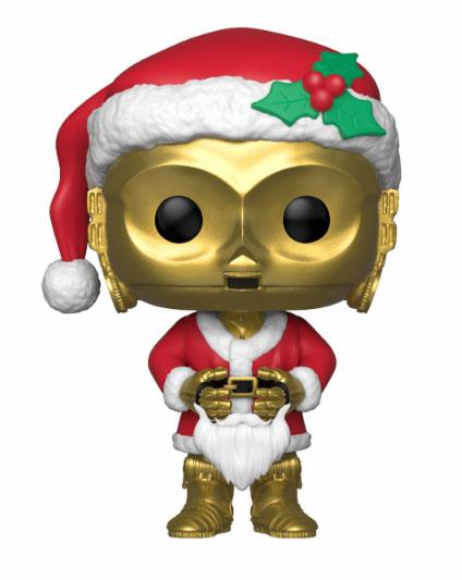 Star Wars POP! Bobble-Head Holiday Santa C-3PO Vinylfigur