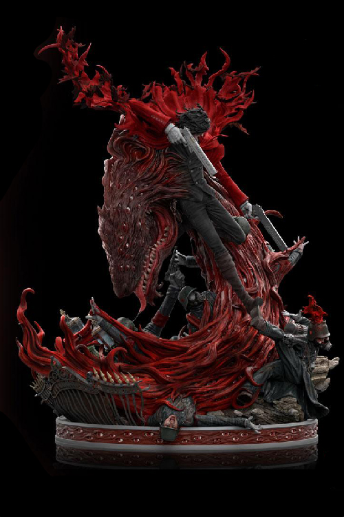 Alucard Hellsing Ultimate Elite Exclusive Staty