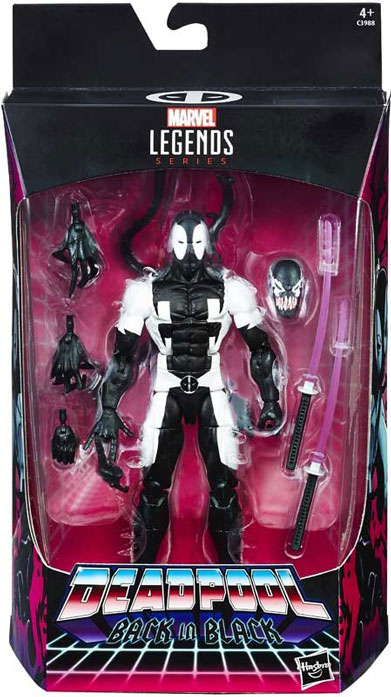 Deadpool Marvel Legends Back in Black Actionfigur Marvel Legends