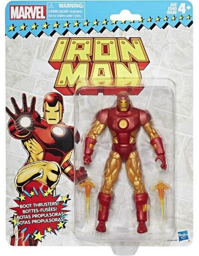 Iron Man Marvel Legends Super Heroes Vintage Actionfigur