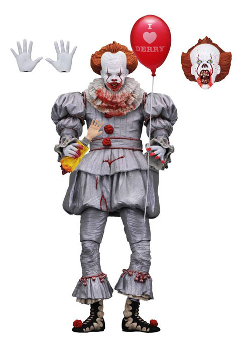 Stephen King's It 2017 Ultimate Pennywise (I Heart Derry) Actionfigur