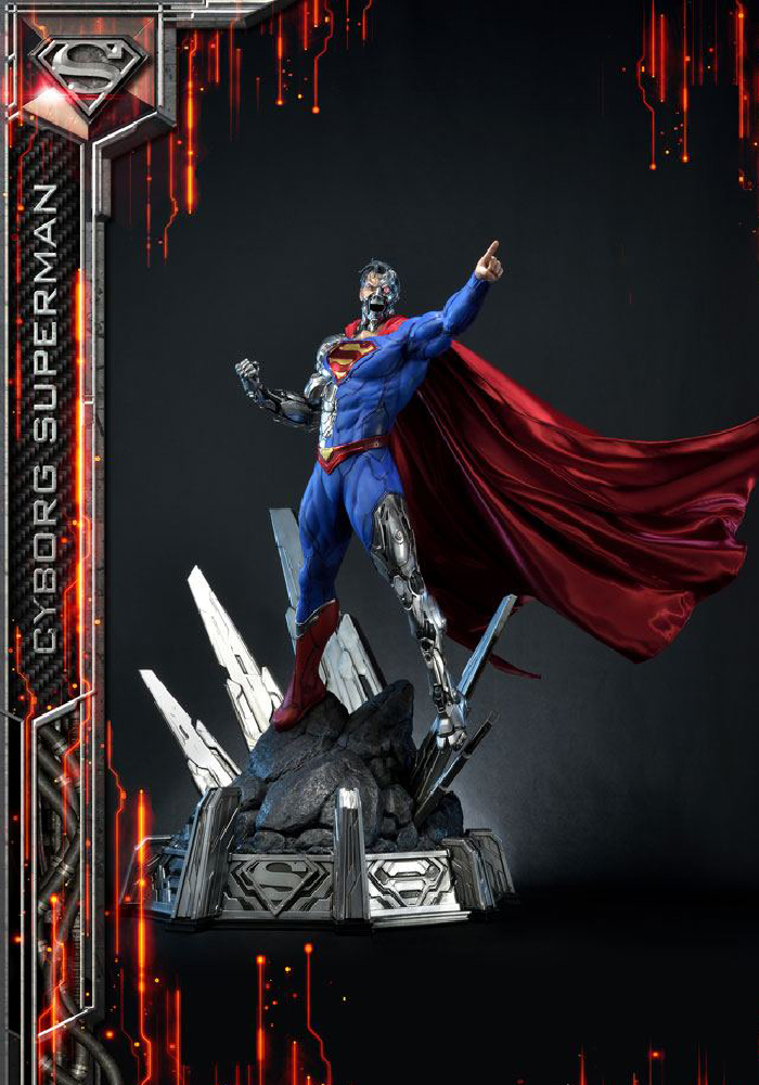 Cyborg Superman DC Comics 1/3 Staty