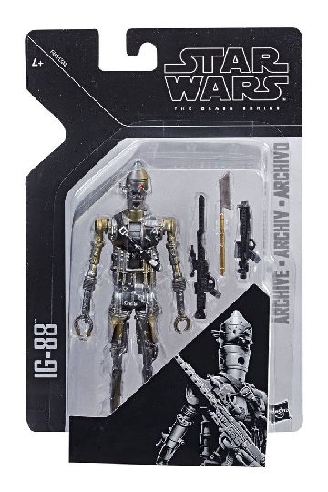 IG-88 (Episode V) Star Wars Black Series Archive Actionfigur