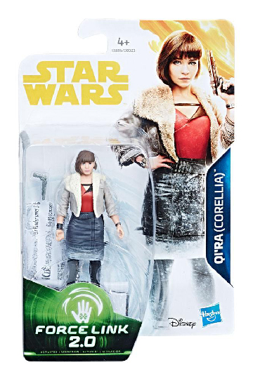 Qi'ra (Solo) Star Wars Force Link 2.0 Actionfigur