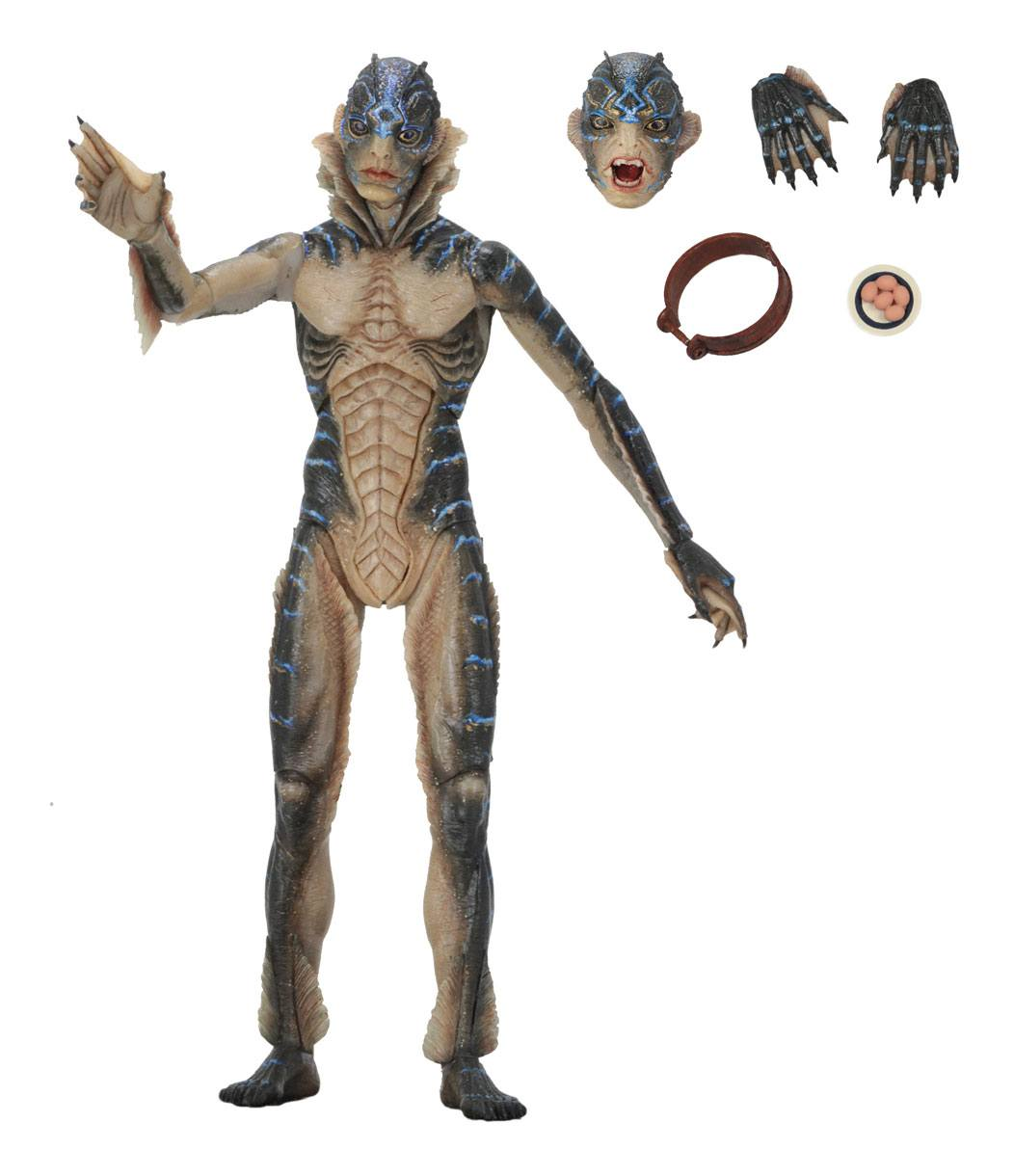 The Shape of Water Guillermo del Toro Amphibian Man Actionfigur
