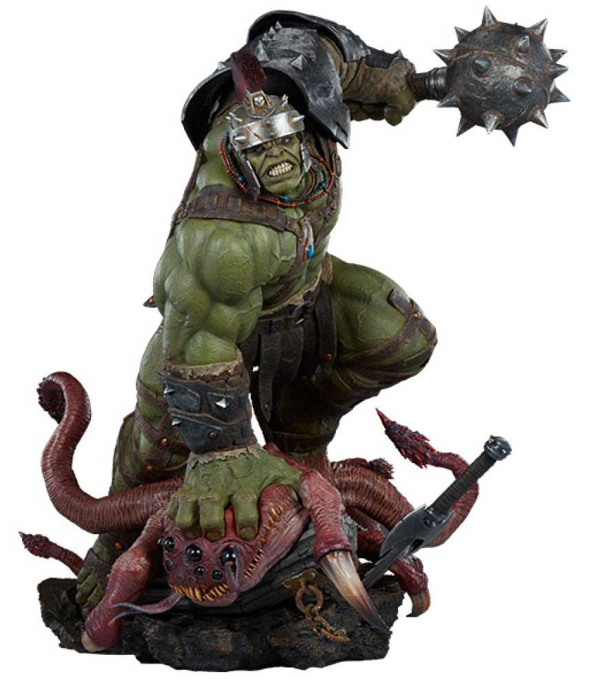Gladiator Hulk Marvel Maquette Sideshow Collectible