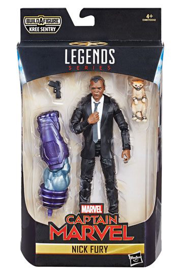 Nick Fury Marvel Legends Series Captain Marvel Actionfigur