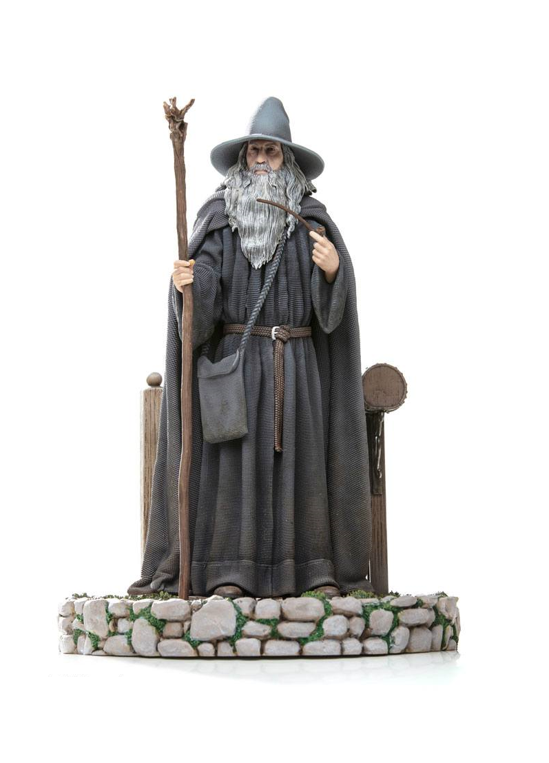 Gandalf Lord Of The Rings Deluxe Art Scale 1/10 Staty