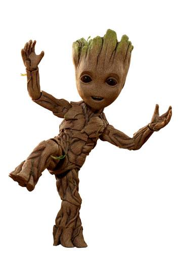 Guardians of the Galaxy Vol 2 Life-Size MMS Actionfigur Groot Slim ver.