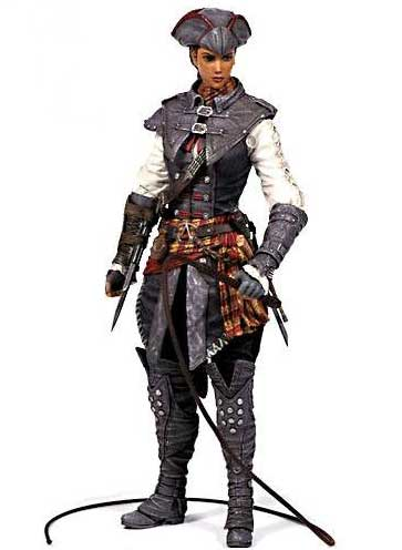 Aveline Assassin´s Creed III Serie 2 Actionfigur