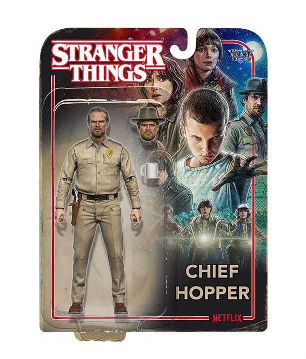 Chief Hopper – Stranger Things Actionfigur