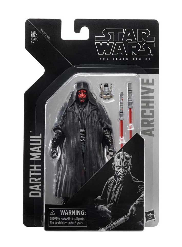 Darth Maul (Episode I) Star Wars Black Series Archive Actionfigur