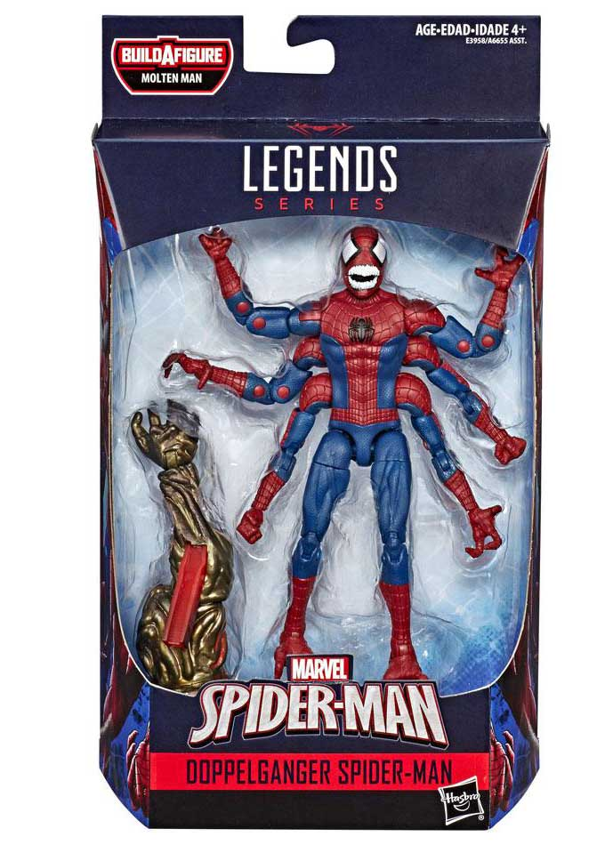 Doppelganger Spider-Man Marvel Legends Actionfigur
