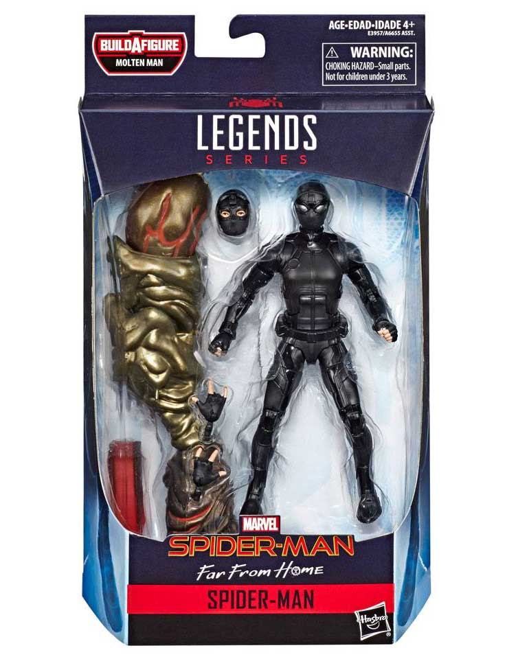 Spider-Man Stealth Suit Marvel Legends Actionfigur