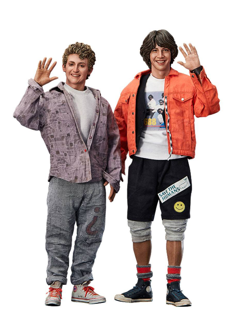 Bill & Ted's Excellent Adventure Actionfigur 2-Pack