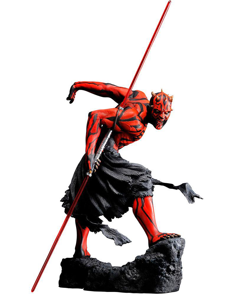 Darth Maul Japanese Ukiyo-E Style Light-Up Edition ARTFX PVC Staty
