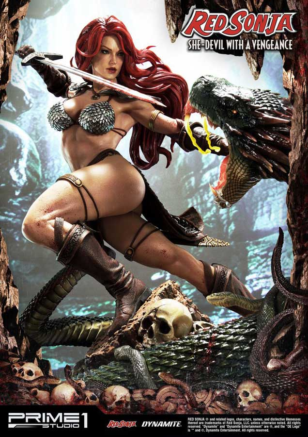 Red Sonja She-Devil with a Vengeance Statue
