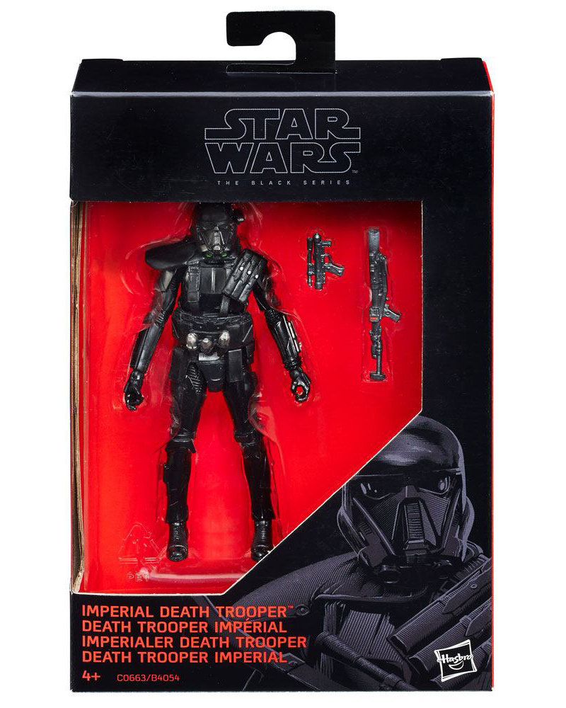 Imperial Death Trooper (Rogue One) Black Series 2016 Actionfigur
