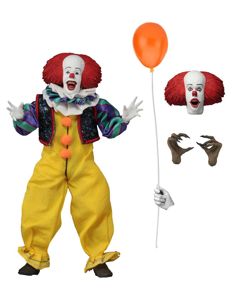 Pennywise Stephen King's It 1990 Retro Actionfigur