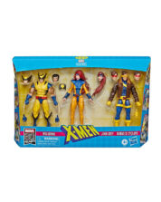 Wolverine, Jean Grey & Cyclops Marvel Legends 80th Anniversary Actionfigurer 3-Pack