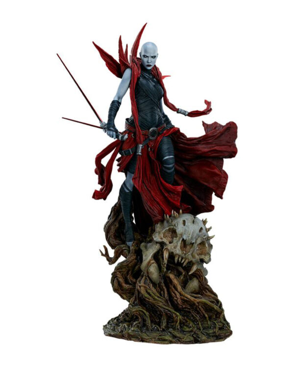 Asajj Ventress Star Wars Mythos Staty