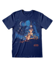 Star Wars New Hope Vintage Poster T-Shirt