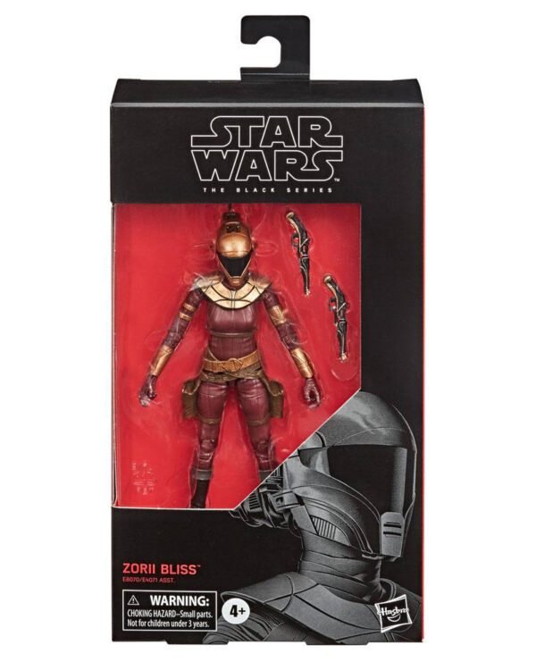 Zorii Bliss (Episode IX) Star Wars Black Series 2020 Actionfigur