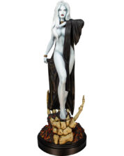 Lady Death Seductress Coffin Comics Staty