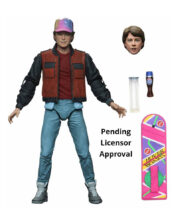 Marty McFly Back to the Future Part II Ultimate Actionfigur