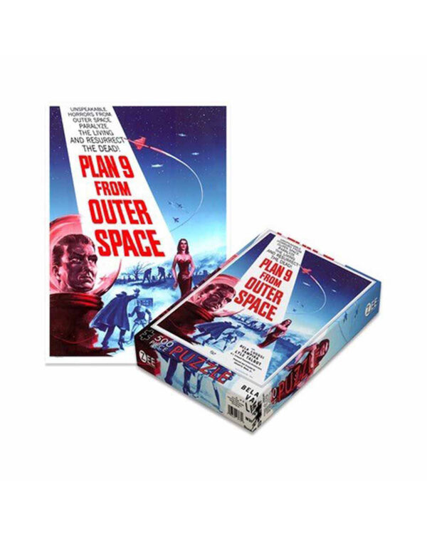 Plan 9 From Outer Space Pussel