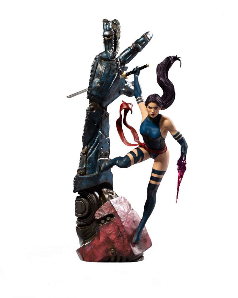 Psylocke Marvel Comics BDS Art Scale Staty