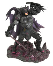Metal Batman Dark Nights DC Comic Gallery PVC Staty