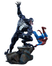 Spider-Man vs Venom Marvel Maquette Staty