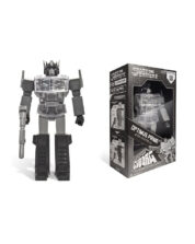 Super Cyborg Optimus Prime Black Transformers Actionfigur