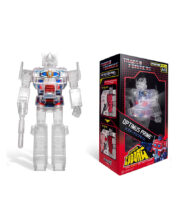 Super Cyborg Optimus Prime Clear Transformers Actionfigur