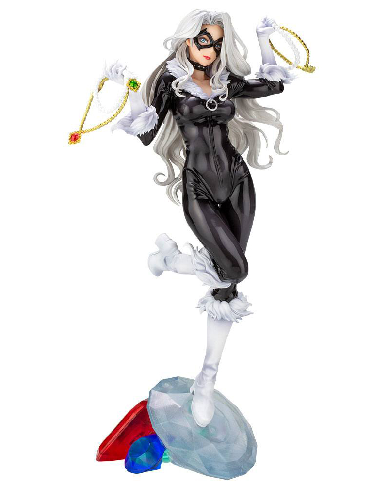 Black Cat Marvel Bishoujo PVC Staty