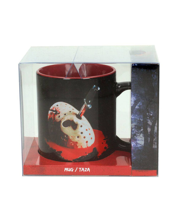 Jason Mask Poster Friday the 13th Mugg