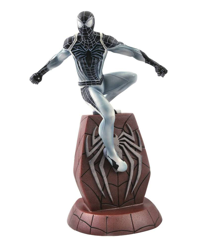 Negative Suit Spider-Man SDCC 2020 Marvel Video Game Gallery PVC Staty