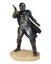 The Mandalorian MK 3 Star Wars Premier Collection Staty
