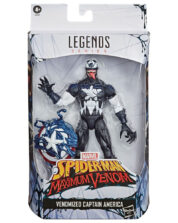 Venomized Captain America Spider-Man Maximum Venom Actionfigur
