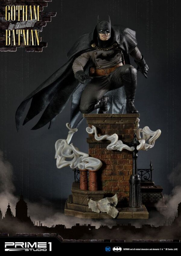 Gotham By Gaslight Batman Black Version Arkham Origins Staty