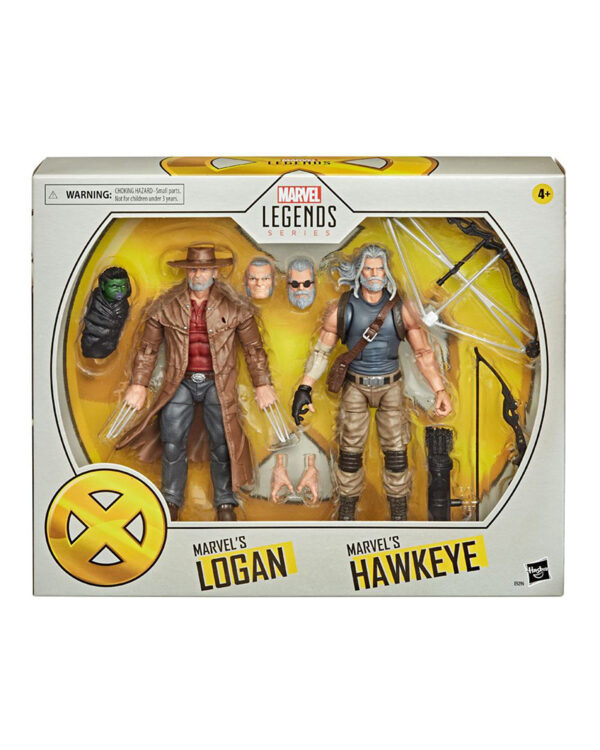 Old Men Logan & Hawkeye Marvel Legends 2-Pack 2020 Actionfigurer